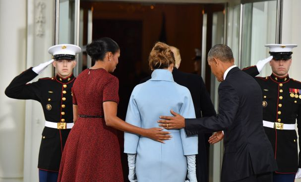 obamas-escorting-melania-into-the-white-house-inauguration-day